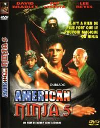 DVD AMERICAN NINJA 5 - O PEQUENO NINJA