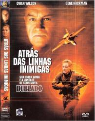 DVD ATRÁS DAS LINHAS INIMIGAS - GUERRA
