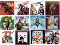 DVD BUD SPENCER e TERENCE HILL - 40 DVDs - COLEÇAO
