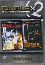 DVD DESEJO ASSASSINO - ALGUEM ATRAS DA PORTA - DUPLEX - CHARLES BRONSON