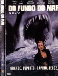 DVD DO FUNDO DO MAR - TERROR - 1999