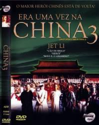 DVD ERA UMA VEZ NA CHINA 3 - JET LI