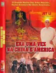 DVD ERA UMA VEZ NA CHINA E NA AMÉRICA - JET LI