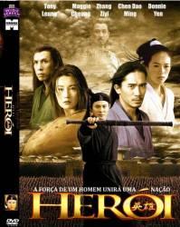 DVD HERÓI - JET LI