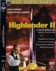 DVD HIGHLANDER 2 - A RESSURREIÇÃO