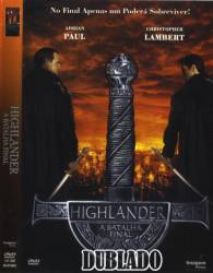 DVD HIGHLANDER 4 - A BATALHA FINAL