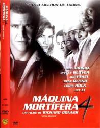 DVD MAQUINA MORTIFERA 4