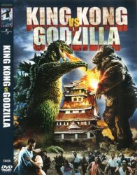 DVD KING KONG VS GODZILLA - 1962