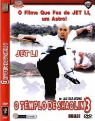 DVD O TEMPLO DE SHAOLIN 3 - JET LI