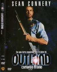 DVD OUTLAND - COMANDO TITANIO - DUBLADO