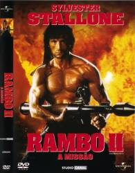 DVD RAMBO 2 - A MISSÃO