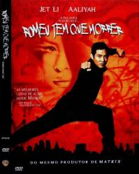 DVD ROMEU TEM QUE MORRER - JET LI - DUBLADO