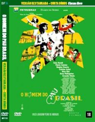 DVD O HOMEM DO PAU BRASIL