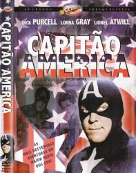 DVD CAPITÃO AMÉRICA - 1944 - DUPLO