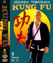 DVD KUNG FU - 2 TEMP - 8 DVDs