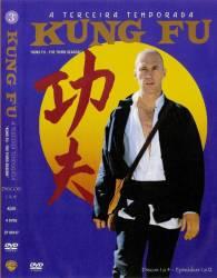 DVD KUNG FU - 3 TEMP - 8 DVDs