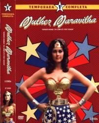 DVD MULHER MARAVILHA 1 TEMP - 5 DVDs - 14 EP