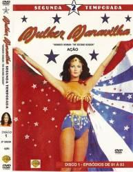 DVD MULHER MARAVILHA 2 TEMP - 8 DVDs - 22 EP