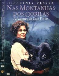 DVD NAS MONTANHAS DOS GORILAS