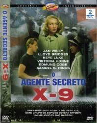 DVD O AGENTE SECRETO X-9 - CLASSICO - 1945