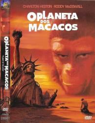 DVD O PLANETA DOS MACACOS - O FILME - CHARLTON HESTON