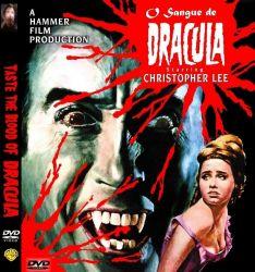 DVD O SANGUE DE DRACULA - CHRISTOPHER LEE