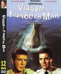 DVD VIAGEM AO FUNDO DO MAR - 3º TEMP - 12 DVDs - DUBLADOS