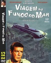DVD VIAGEM AO FUNDO DO MAR - 4º TEMP - 12 DVDs - DUBLADOS