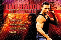 DVD LEAO BRANCO - O LUTADOR SEM LEI - VAN DAMME