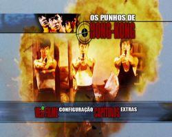 DVD OS PUNHOS DE HONG KONG - JACKIE CHAN