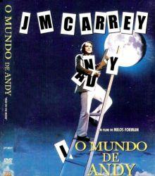 DVD O MUNDO DE ANDY - JIM CARREY
