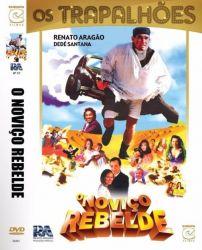 DVD OS TRAPALHOES EM  O NOVIÇO REBELDE