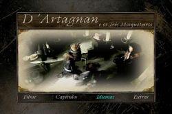 DVD DARTAGNAN E OS TRES MOSQUETEIROS - VINCENT ELBAZ
