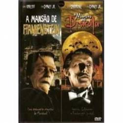 DVD A MANSAO DE FRANKENSTEIN / A MANSAO DE DRACULA - dvd 2x1