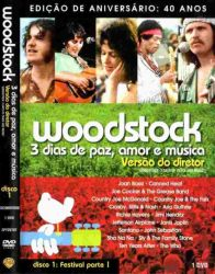 DVD WOODSTOCK - DISCO 1
