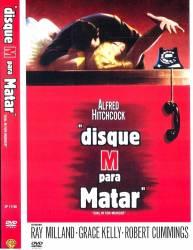 DVD DISQUE M PARA MATAR - ALFRED HITCHCOCK - 1954