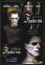 DVD O FILHO DE FRANKENSTEIN - O FANTASMA DE FRANKENSTEIN - dvd 2x1