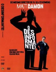 DVD O DESINFORMANTE - MATT DAMON