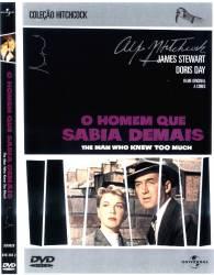 DVD O HOMEM QUE SABIA DEMAIS - ALFRED HITCHCOCK - 1955