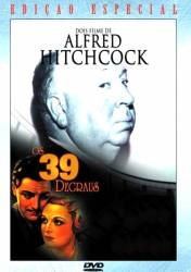 DVD OS 39 DEGRAUS - ALFRED HITCHCOCK - 1935