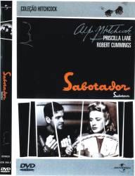DVD SABOTADOR - ALFRED HITCHCOCK - 1942