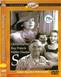 DVD SEMPRE NO MEU CORAÇAO - 1942