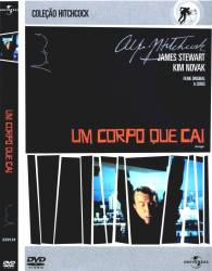 DVD UM CORPO QUE CAI - ALFRED HITCHCOCK - 1958