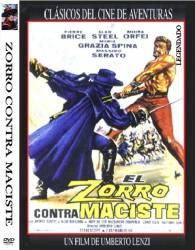 DVD ZORRO CONTRA MACISTE - CLASSICO - 1963