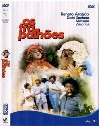 DVD OS TRAPALHOES - MELHORES MOMENTOS - 3 DVDs