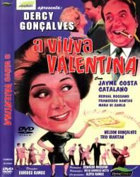 DVD A VIUVA VALENTINA - NACIONAL - DERCY GONÇALVES