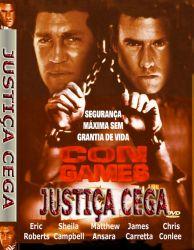 DVD CON GAMES - JUSTIÇA CEGA - ERIC ROBERTS