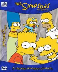 DVD OS SIMPSONS - 3 TEMP - 4 DVD