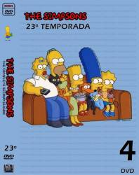 DVD OS SIMPSONS - 23 TEMP - 4 DVD
