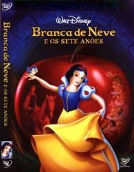 DVD BRANCA DE NEVE E OS SETE ANOES - 1937